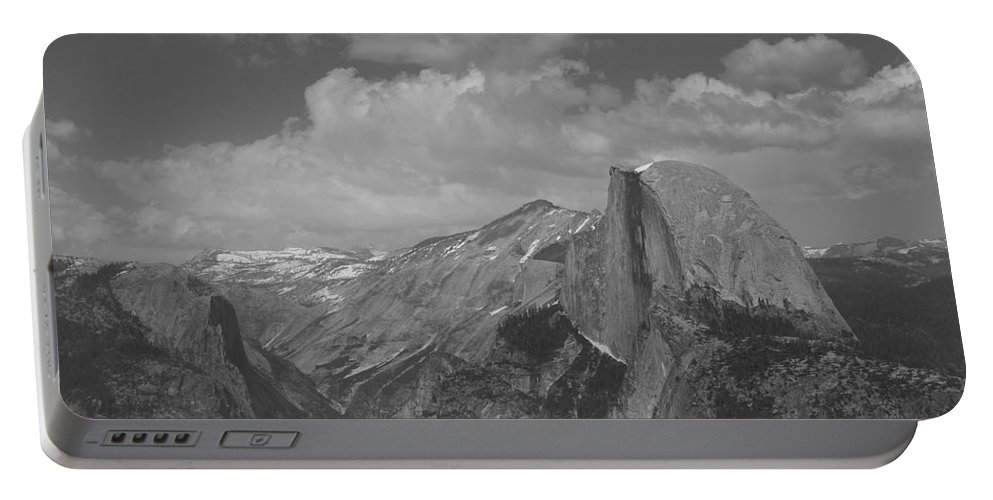 Half Dome Portable Battery Charger featuring the photograph Glacier Point by Travis Day