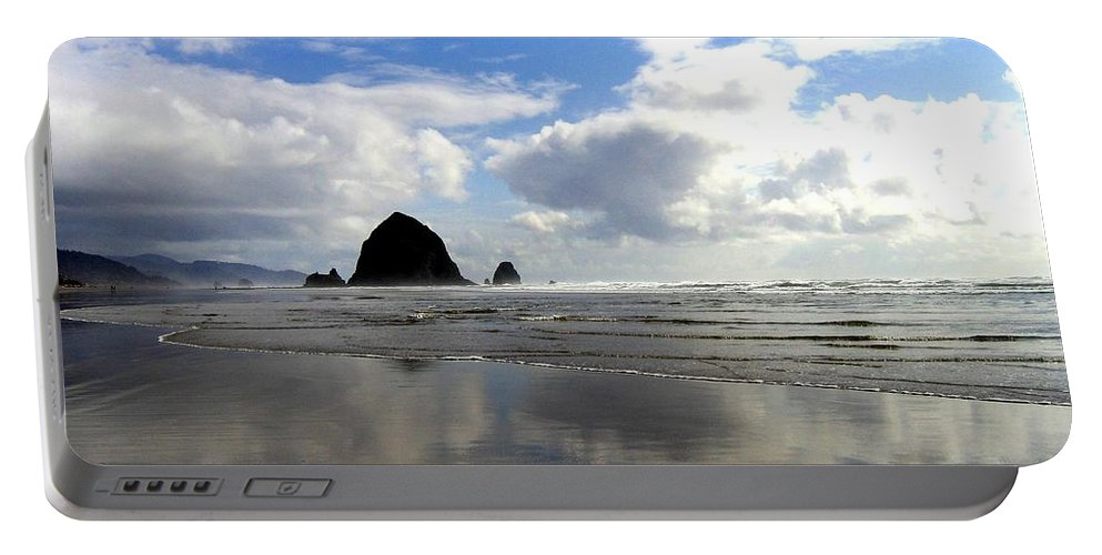 Glassy Sands Portable Battery Charger featuring the photograph Glassy Sands by Will Borden