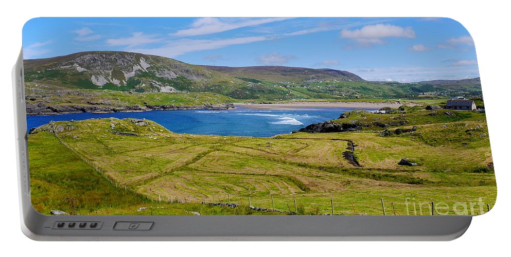 Gleann Cholm Cille Portable Battery Charger featuring the photograph Glencolmcille County Donegal by Lexa Harpell