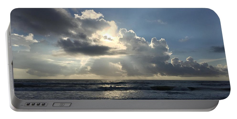 St. Augustine Portable Battery Charger featuring the photograph Glory Day by LeeAnn Kendall