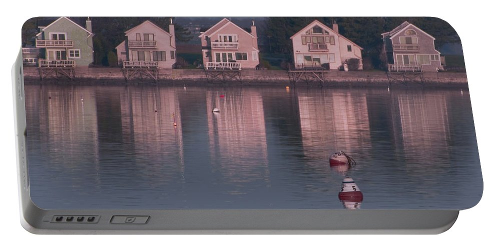Goat Island Portable Battery Charger featuring the photograph Goat Island by Steven Natanson