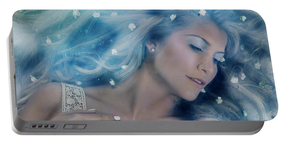 Portrait Portable Battery Charger featuring the photograph Goddess by Beth Hedley