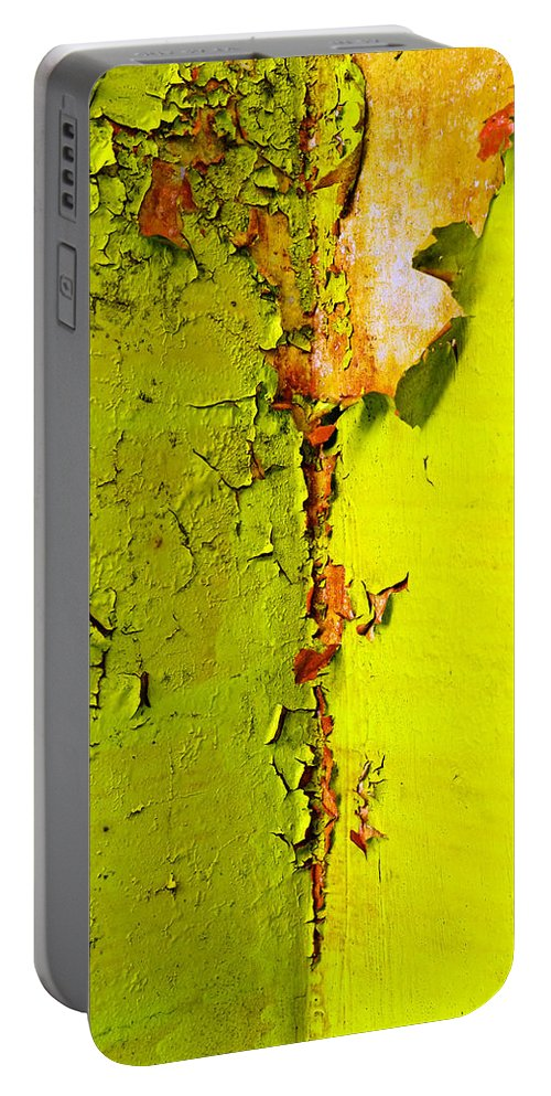 Skip Hunt Portable Battery Charger featuring the photograph Going Green by Skip Hunt