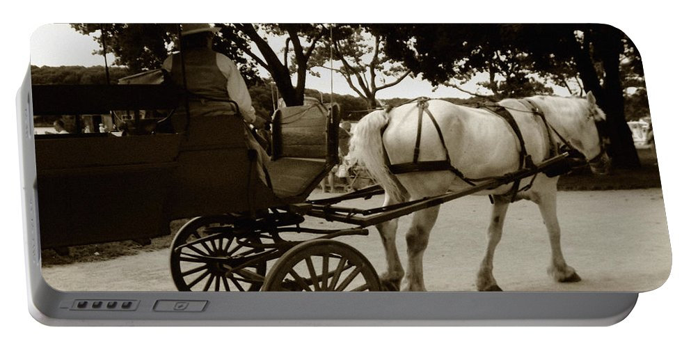 Driver Portable Battery Charger featuring the photograph Going Home by RC DeWinter