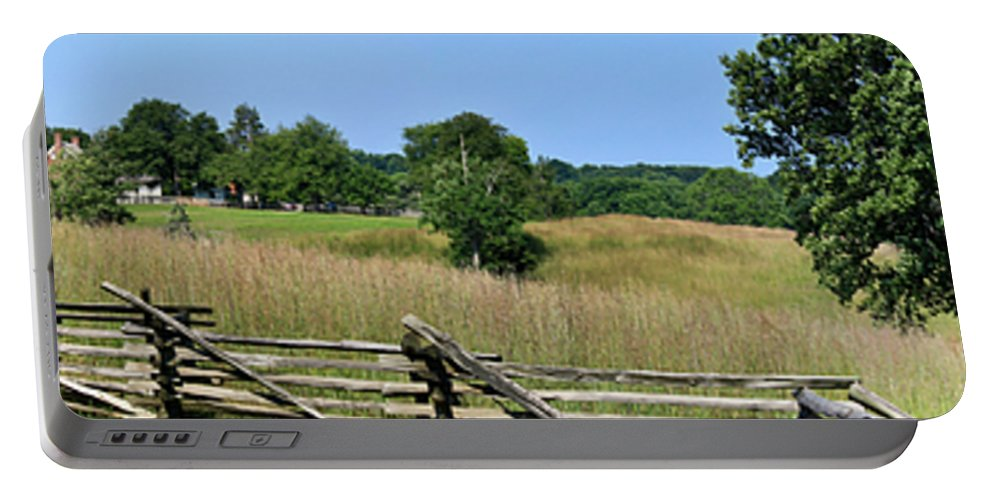 Appomattox Portable Battery Charger featuring the photograph Going To Appomattox Court House by Teresa Mucha
