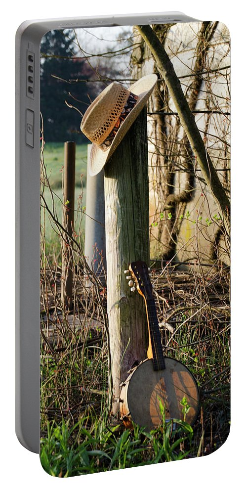 Going Portable Battery Charger featuring the photograph Going To The Country by Bill Cannon