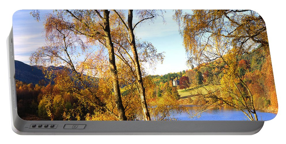 Nag939489 Portable Battery Charger featuring the photograph Shades Of Gold by Edmund Nagele
