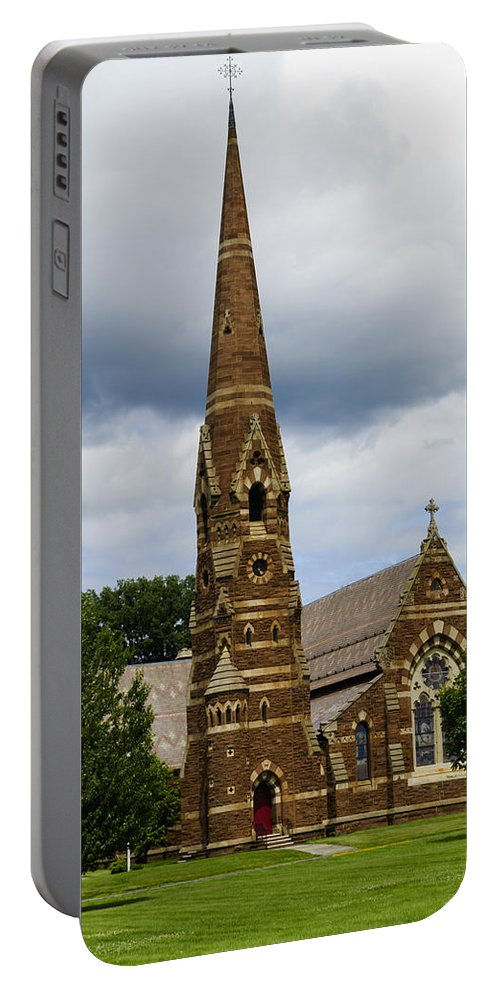 Church Portable Battery Charger featuring the photograph Good Shepherd Church by Jasmin Hrnjic