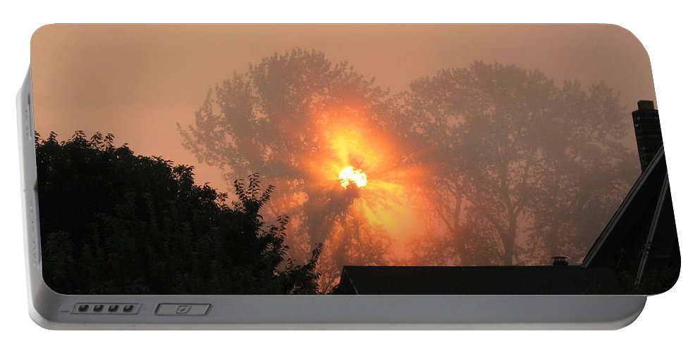 Landscapes Portable Battery Charger featuring the photograph Goodnight Kiss by Shari Chavira