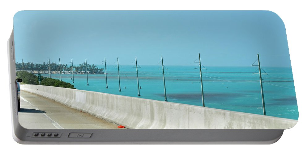 Key West Florida Portable Battery Charger featuring the photograph Gorgeous Key West Sea by Davids Digits