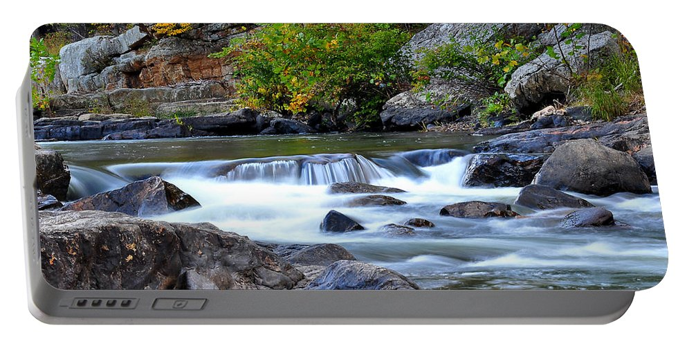 Todd Hostetter Portable Battery Charger featuring the photograph Goshen Pass by Todd Hostetter