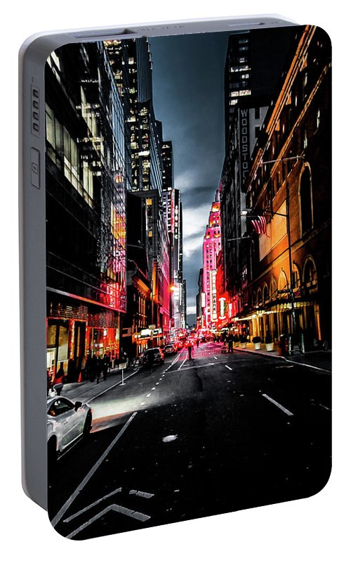 Gotham Portable Battery Charger featuring the photograph Gotham by Nicklas Gustafsson