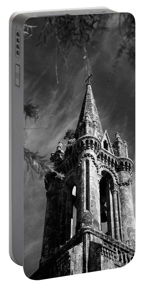 Azores Portable Battery Charger featuring the photograph Gothic style by Gaspar Avila