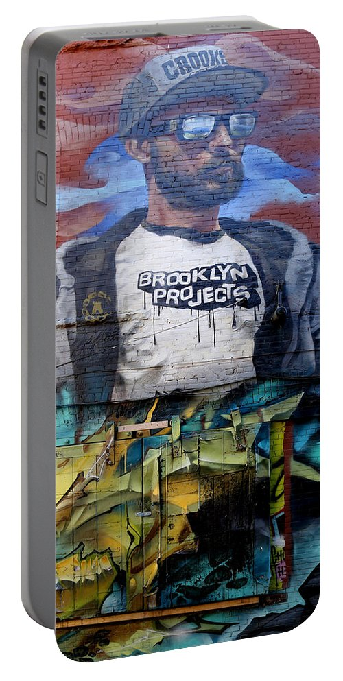 Graffiti Portable Battery Charger featuring the photograph Graffiti 6 by Andrew Fare