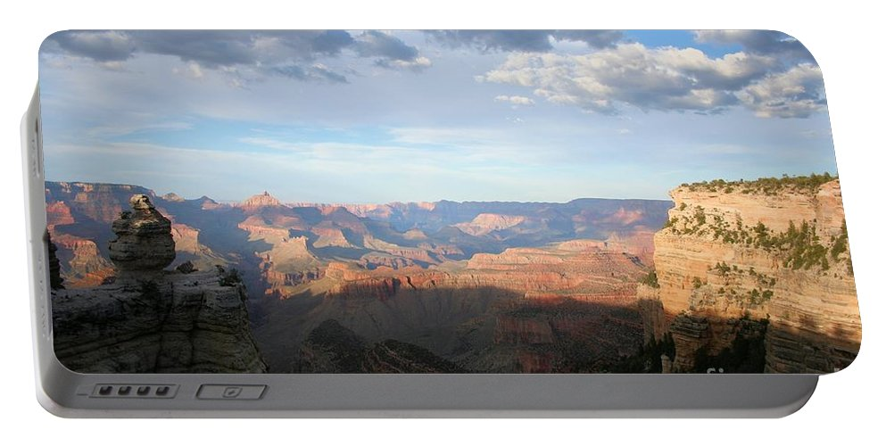 Canyon Portable Battery Charger featuring the photograph Grand Canyon 2 by John Knoppers