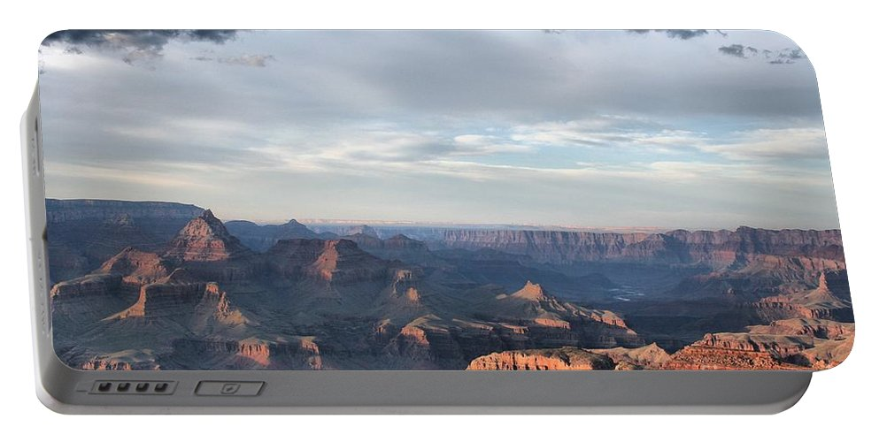 Clouds Portable Battery Charger featuring the photograph Grand Canyon 4 by John Knoppers