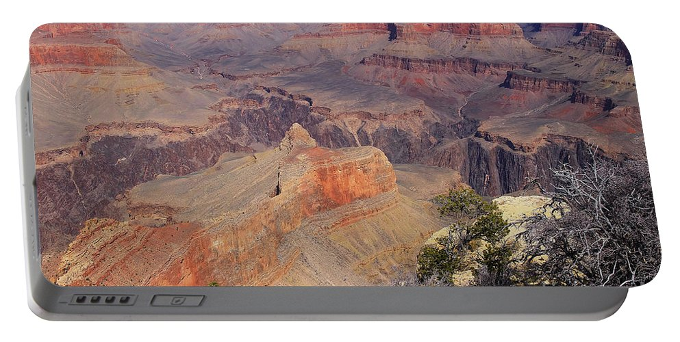Grand Canyon. South Rim Portable Battery Charger featuring the photograph Grand Canyon I by Teresa Zieba