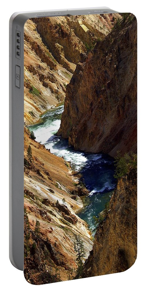 Yellowstone National Park Portable Battery Charger featuring the photograph Grand Canyon Of The Yellowstone 1 by Marty Koch