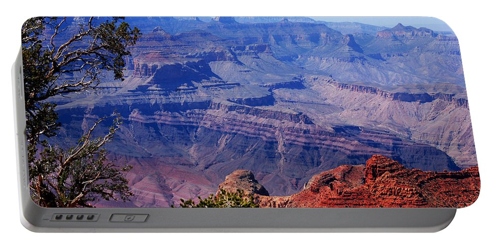 Photography Portable Battery Charger featuring the photograph Grand Canyon View by Susanne Van Hulst