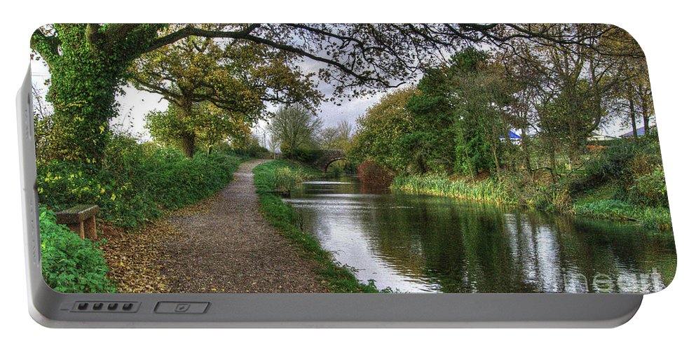 Grand Portable Battery Charger featuring the photograph Grand Western Canal At Crown Hill by Rob Hawkins