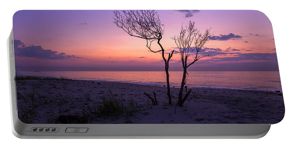 Grandview Portable Battery Charger featuring the photograph Grandview Beach Sunrise by Amy Jackson