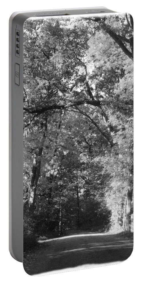 Back Portable Battery Charger featuring the photograph Graves Rd by September Stone