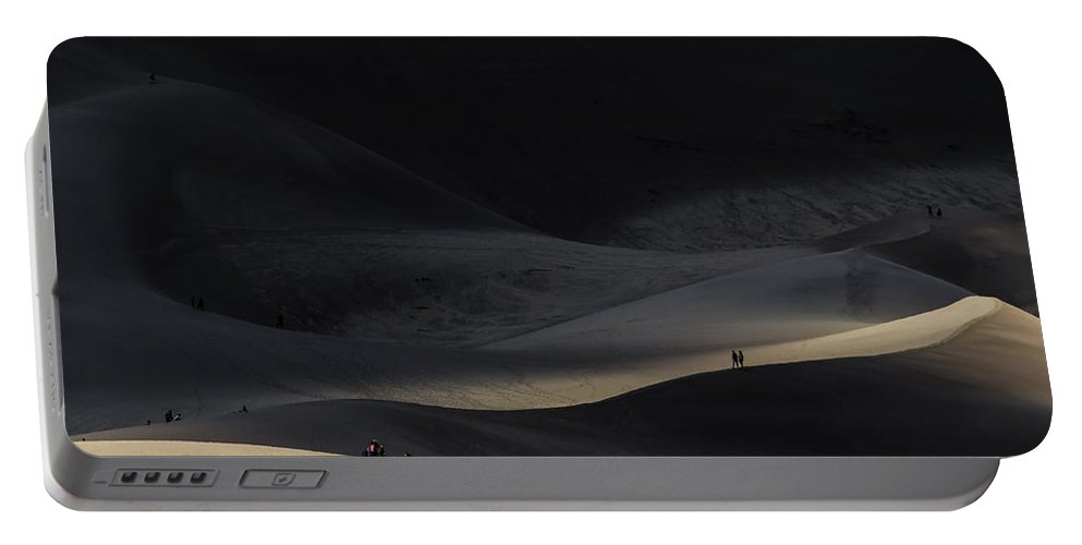 Great Sand Dunes National Park Portable Battery Charger featuring the photograph Great Sand Dunes National Park by Greg Reed