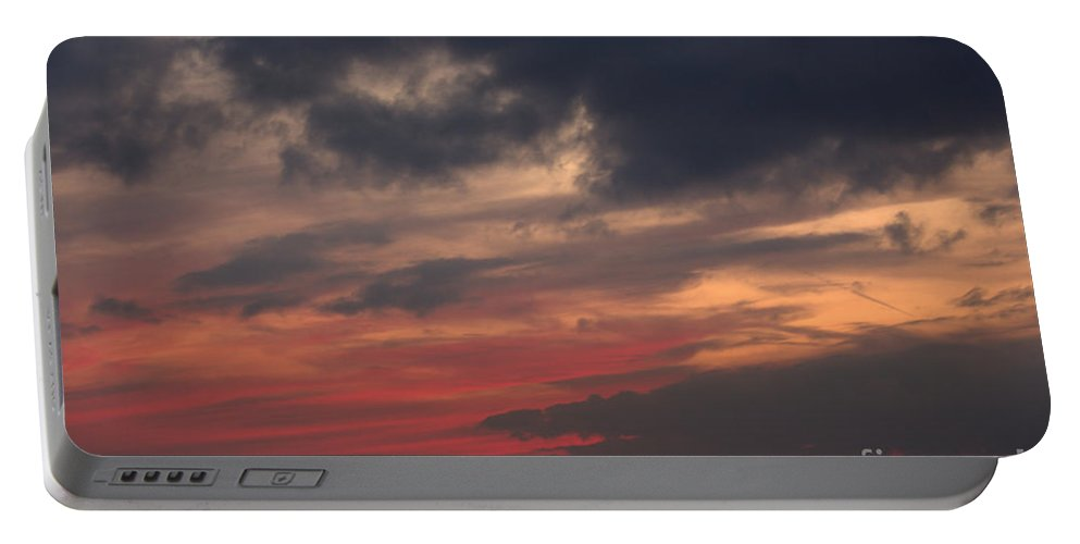 Grand Bend Portable Battery Charger featuring the photograph Great White Cloud by John Scatcherd