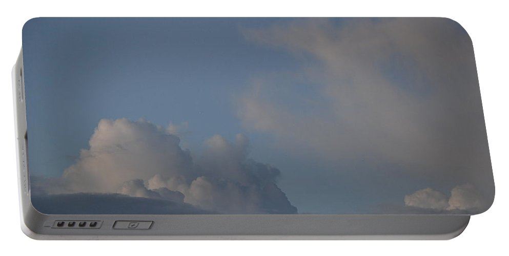 Clouds Portable Battery Charger featuring the photograph Greyskys by Rob Hans