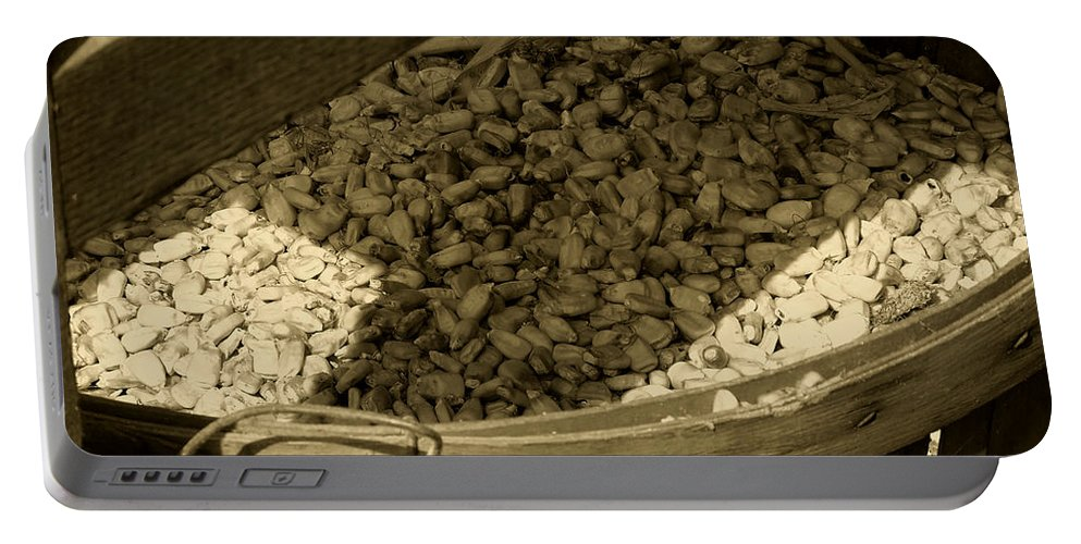 Agriculture Portable Battery Charger featuring the photograph Grist For The Mill by RC DeWinter