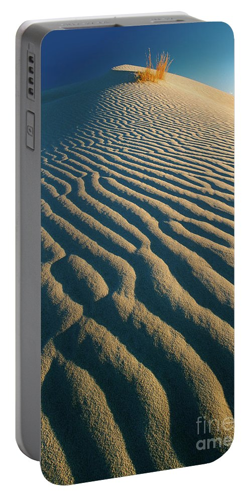 America Portable Battery Charger featuring the photograph Guadalupe Dunes by Inge Johnsson