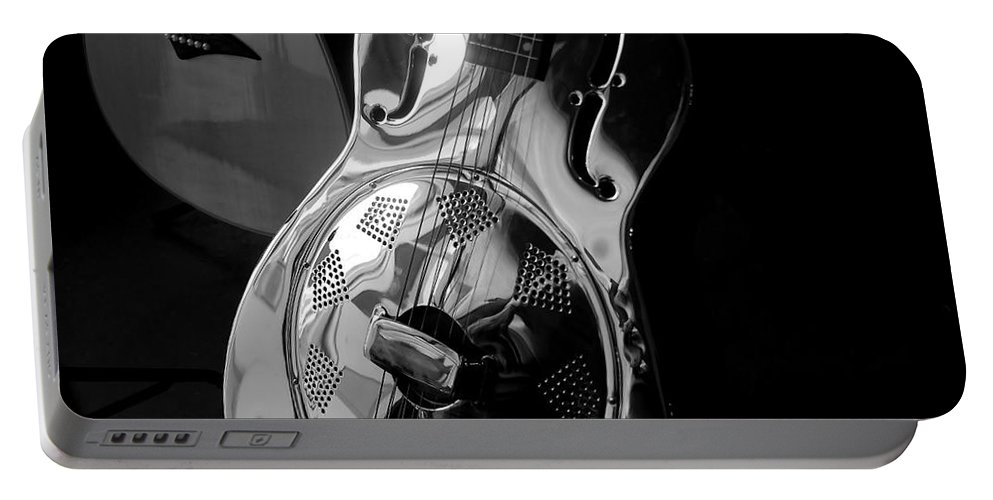 Guitars Portable Battery Charger featuring the photograph Guitars by David Lee Thompson