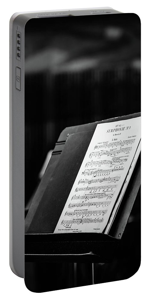 Opera Portable Battery Charger featuring the photograph Gustav Mahler Symphony No 1 by Marco Oliveira
