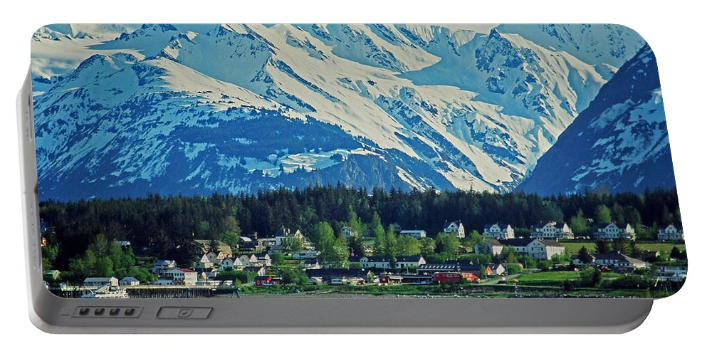 North Portable Battery Charger featuring the photograph Haines - Alaska by Juergen Weiss