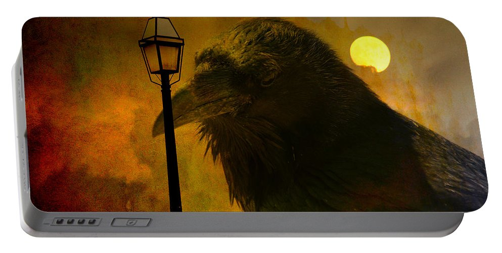 Halloween Portable Battery Charger featuring the photograph Halloween Is Over by Susanne Van Hulst