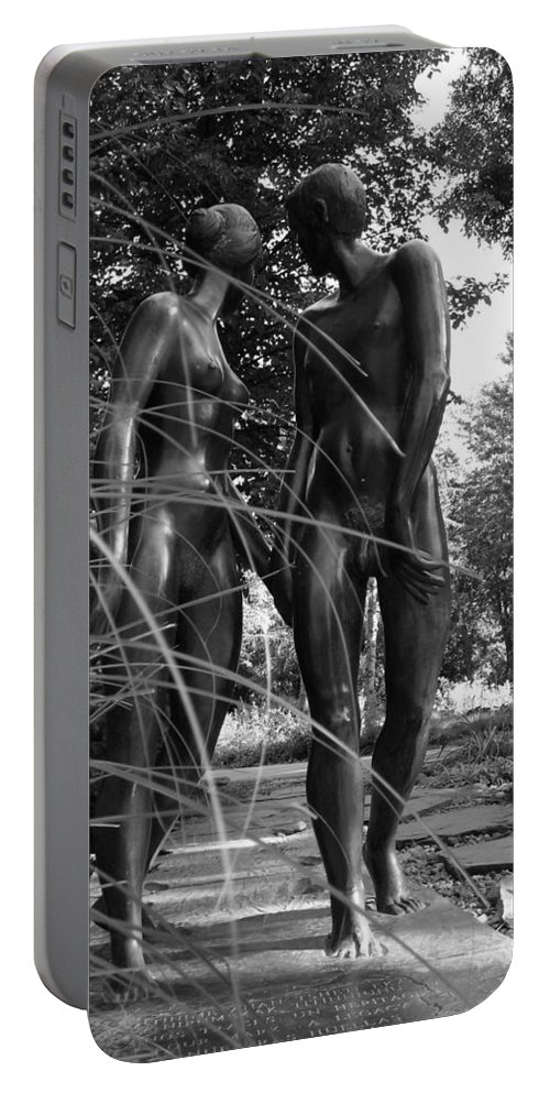 Nature Portable Battery Charger featuring the photograph Hand In Hand by Juergen Weiss