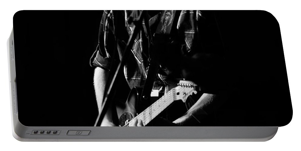 Fine Art Photography Portable Battery Charger featuring the photograph Hard Workin Man by David Lee Thompson