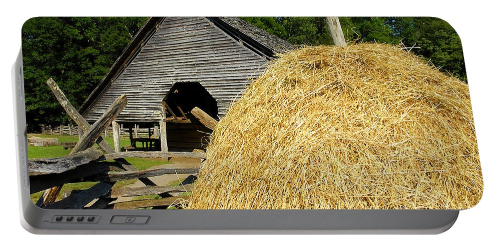 Harvest Portable Battery Charger featuring the photograph Harvest by David Lee Thompson