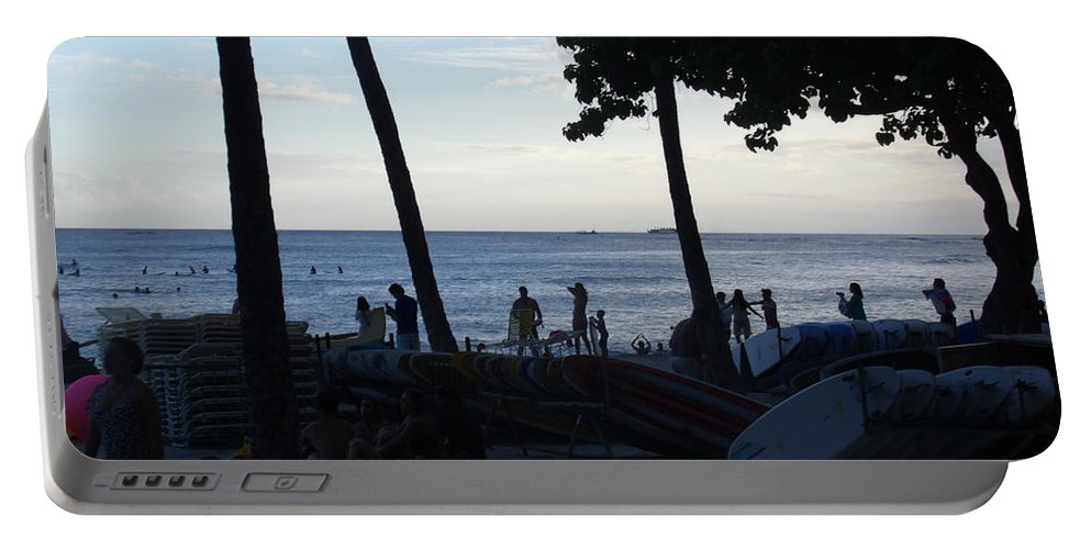 Hawaii Portable Battery Charger featuring the photograph Hawaiian Afternoon by Daniel Sauceda