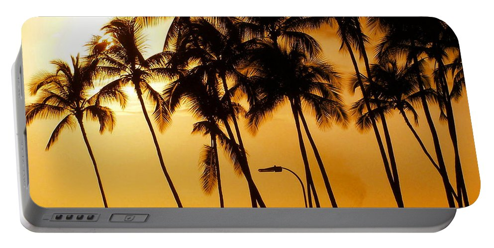 Landscape Portable Battery Charger featuring the photograph Hawaiian Cruise by Athala Carole Bruckner