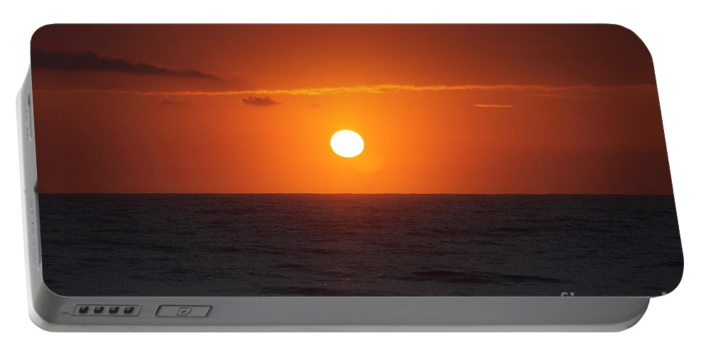 Sunrise Portable Battery Charger featuring the photograph Hawaiian Sunrise by Nadine Rippelmeyer