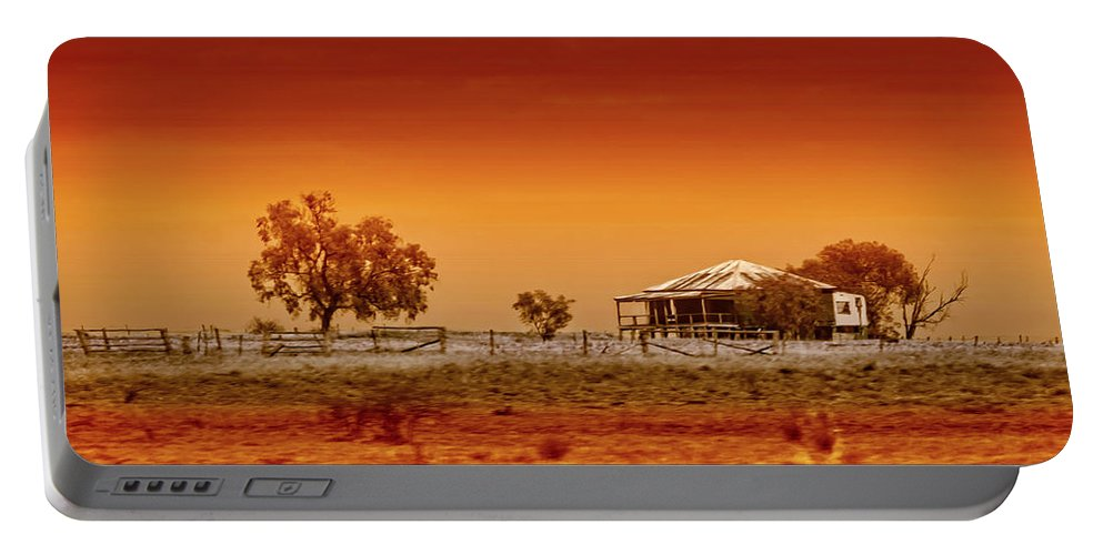 Landscapes Portable Battery Charger featuring the photograph Hazy Days by Holly Kempe