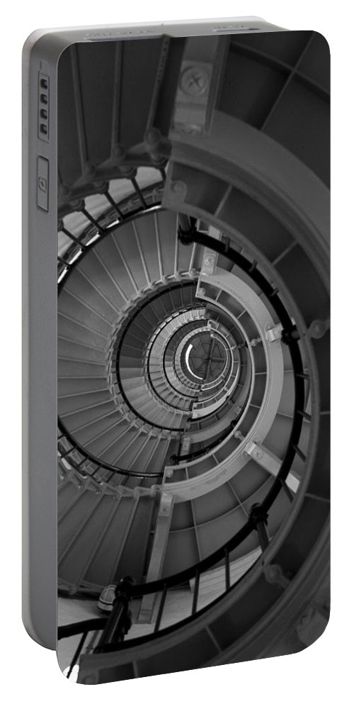 Stairs Portable Battery Charger featuring the photograph Headspinner by Andrei Shliakhau