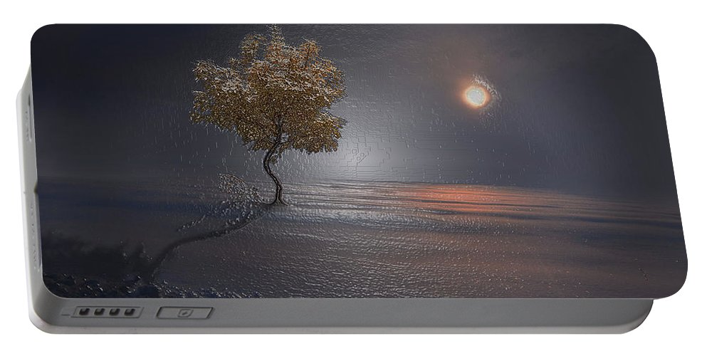 Landscape Portable Battery Charger featuring the photograph Heart In Far Light by Scott Mendell