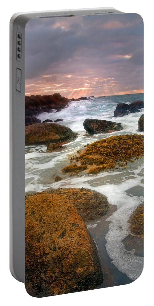 Sunrise Portable Battery Charger featuring the photograph Heavenly Dawning by Mike Dawson