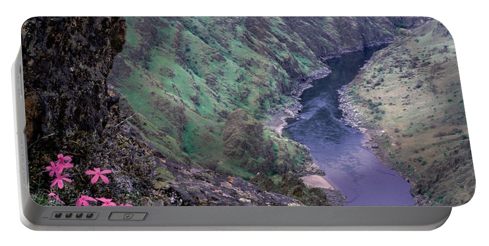 Hells Canyon Portable Battery Charger featuring the photograph Hells Canyon by Leland D Howard