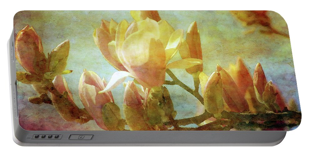 Impression Portable Battery Charger featuring the photograph Herald Spring 8878 Idp_2 by Steven Ward