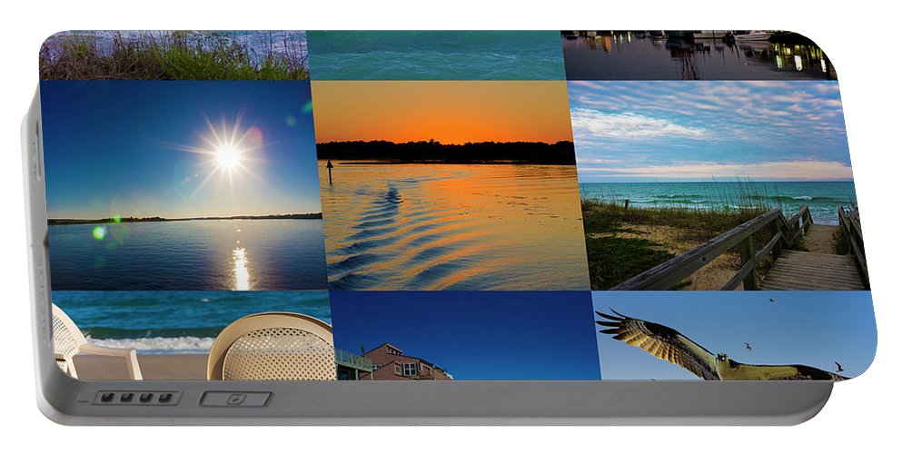 Topsail Island Portable Battery Charger featuring the photograph Here by Betsy Knapp