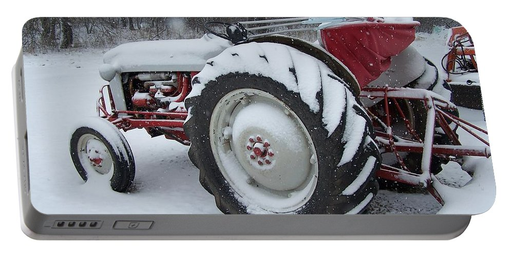Tractor Portable Battery Charger featuring the photograph Herman by Gale Cochran-Smith