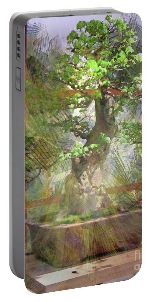 Hidden Treasures Portable Battery Charger featuring the digital art Hidden Treasures by John Beck